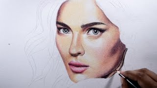 getlinkyoutube.com-How to draw skin -- Basic tips with colored pencils.