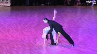 getlinkyoutube.com-Slavik Kryklyvyy & Karina Smirnoff - Rumba - Kyiv Open 2015