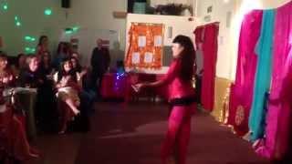 getlinkyoutube.com-Zara Dance - shaabi BellyDance Hakim شعبي رقص