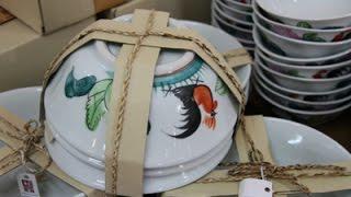 getlinkyoutube.com-ไปแล้วต้องอุดหนุน! ชามตราไก่ เครื่องเซรามิกราคาทู๊กถูก ของดีของฝากลำปาง พิพิธภัณฑ์เซรามิกธนบดี
