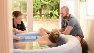 getlinkyoutube.com-The Natural Home Water Birth of Bronson