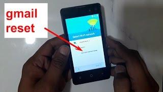 Itel it1409 Google Account Verification FRP Reset Gmail Bypas Eazy