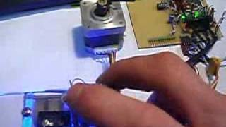 getlinkyoutube.com-Stepper Motor Controller with speed control and forward reverse