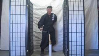 getlinkyoutube.com-Part 3 Chosun Ninjato (Homestudy Indoor sword techniques) really? video #278