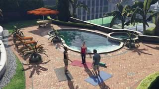 getlinkyoutube.com-GTA V - Sexual Yoga & Alien Abduction! #17 (Let's Play)