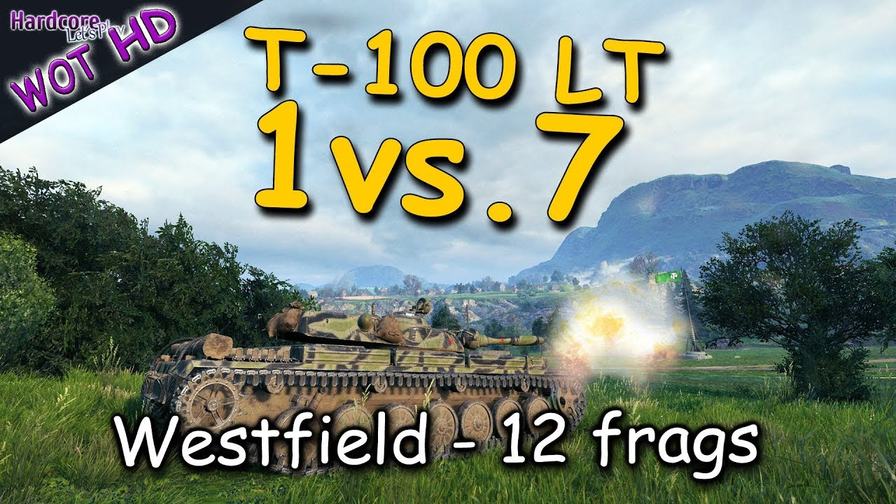 WOT HD  T 100 LT  The Wolf and the Seven Sheep  WORLD OF TANKS