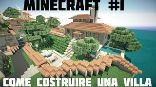 getlinkyoutube.com-Tutorial Minecraft #1 -Come costruire una villa spettacolare! Primo Piano e Piscina...