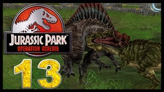 getlinkyoutube.com-Jurassic Park: Operation Genesis - Episode 13 - Dinosaur Battles