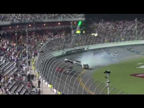2012 Subway Jalapeno 250 - Kurt Busch Wins / Multi Car Crash