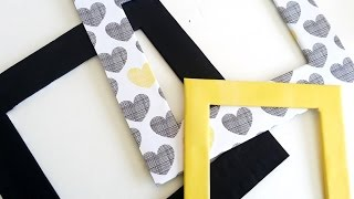 getlinkyoutube.com-{DIY} Cardboard Frames