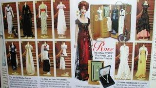 getlinkyoutube.com-Titanic: Rose Doll [Franklin Mint Collection]