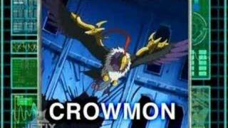 getlinkyoutube.com-Digimon: Data Squad - Falcomon warp digivolve to Crowmon