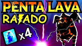 getlinkyoutube.com-CV9 - ATAQUE PENTALAVA COM RAIOS CLASH OF CLANS
