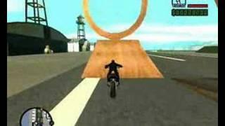 getlinkyoutube.com-GTA San Andreas SAMP Bike Stunt