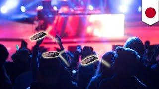 【閲覧注意】コンサート中にゴキブリまき散らした男逮捕