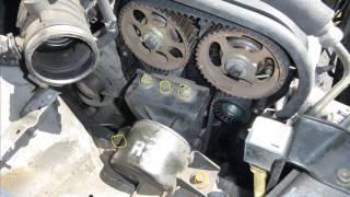 getlinkyoutube.com-Chevrolet Aveo 2006 Timing belt replacement