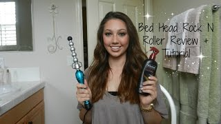 getlinkyoutube.com-Bed Head Rock N Roller Bubble Curling Iron Wand - Review & Tutorial