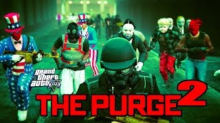 getlinkyoutube.com-GTA 5 ONLINE - THE PURGE 2