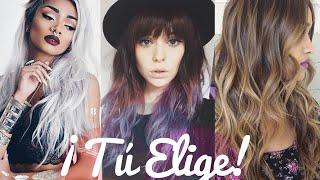 Las 10 TENDENCIAS de COLOR♡2016 (cabello)