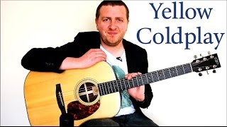 getlinkyoutube.com-Yellow - Guitar Lesson - Coldplay - 100% Accurate - Chords + Rhythm