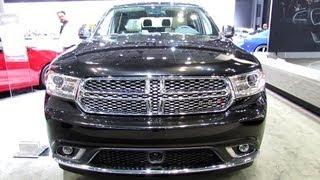 getlinkyoutube.com-2014 Dodge Durango Citadel - Exterior and Interior Walkaround - 2013 New York Auto Show