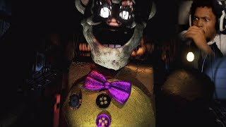 WAIT, ARE WE PHONE GUY FROM FNAF1!?   Fredbear's Fright (Part 2)
