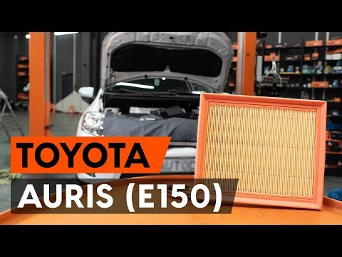 Как заменить воздушный фильтр двигателя на TOYOTA AURIS 1 (E150) [ВИДЕОУРОК AUTODOC]