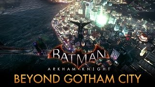 getlinkyoutube.com-Batman: Arkham Knight - Out of the Game's Map [PC Mod]