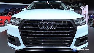 getlinkyoutube.com-2017 Audi Q7 3.0T Quattro - Exterior Walkaround - 2016 LA Auto Show