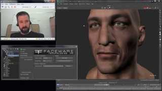 Markerless Realtime Facial Animation in MotionBuilder with Faceware Live 2.0