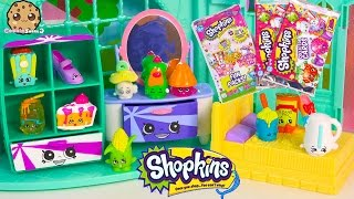 getlinkyoutube.com-Shopkins 12 Pack Season 2 with Two Mystery Blind Bags + Collector Card + Fun Pack Cards