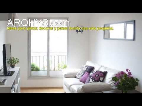Ideas para pintar, decorar y poner bonita una sala pequeña