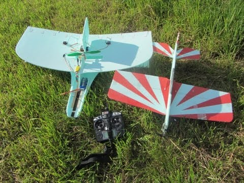 Maiden for the MikeysRC FPV bi-plane