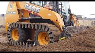 getlinkyoutube.com-CASE SR220 with CAMOPLAST OTT tracks 2015