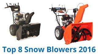 getlinkyoutube.com-8 Best Snow Blowers 2016