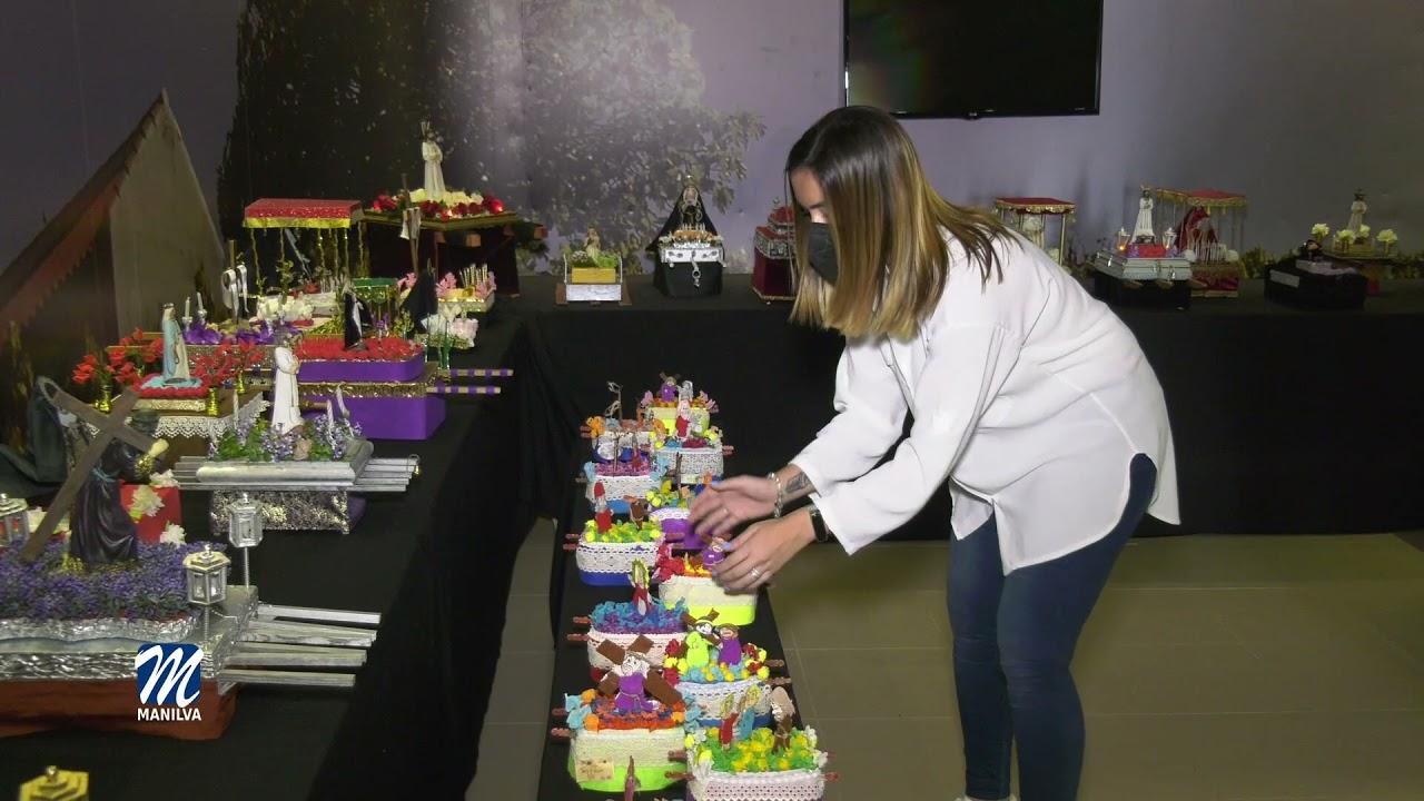 Exposición de tronos en miniatura