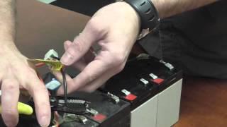 getlinkyoutube.com-How to Wire a New Razor Scooter Battery