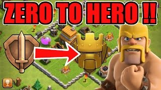 "getlinkyoutube.com-""Zero To Hero Bronze To Titan!"" | Clash Of Clans"