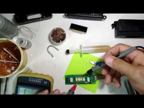Ремонт подсветки часов автомобиля Ланос