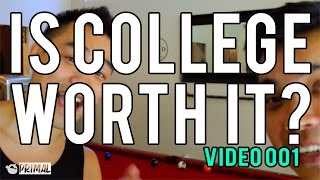 getlinkyoutube.com-Is College Worth It? Vlog Smurfin WRX  Day 001