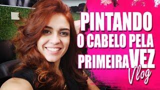 PRIMEIRA VEZ PINTANDO O CABELO Ruivas poderosas MAXTON