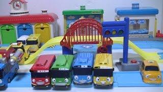 getlinkyoutube.com-타요 도로놀이 장난감 Tayo The Little Bus Road Play Set Toys