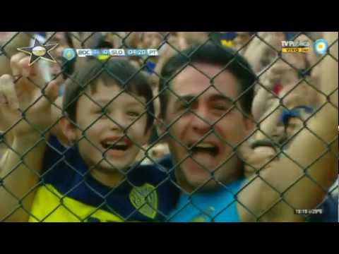 Boca Juniors 3 - San Lorenzo 1 (Inicial 2012, Argentina)