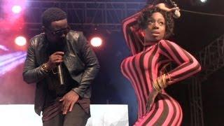 getlinkyoutube.com-Sweetio - Raquel ft Sarkodie Live Accra Sports Stadium