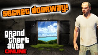 getlinkyoutube.com-GTA 5 - NEW Secret Hidden Door Easter Egg! (GTA 5 Secret Spots)