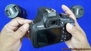 Canon EOS 1200D Rebel T5 Unboxing