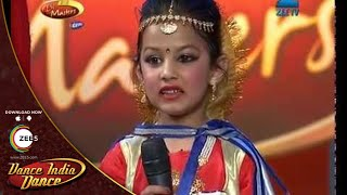 getlinkyoutube.com-DID L'il Masters Season 3 - Delhi Auditions - Twinkle Sharma Performance