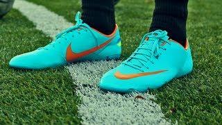 getlinkyoutube.com-Nike ACC Mercurial Vapor VIII FG Unboxing by freekickerz