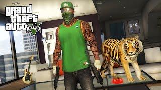 getlinkyoutube.com-GTA 5 Real Life Thug Mod #27 - BUYING A TIGER!! (GTA 5 Mods)
