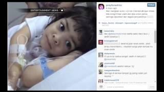 Ashira anak kecil yang meninggal dunia karena kanker perut